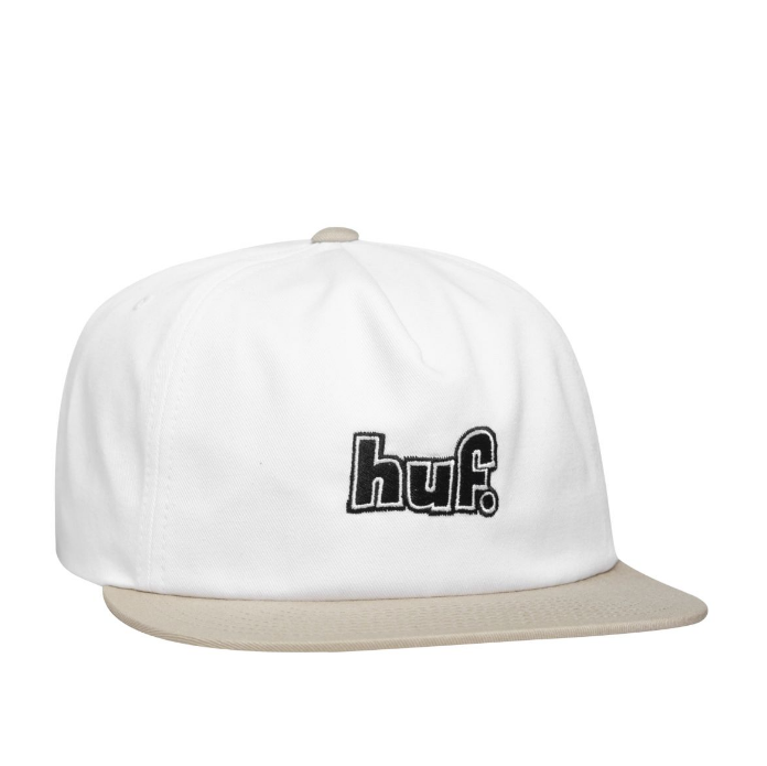HUF 1993 Logo Strapback White