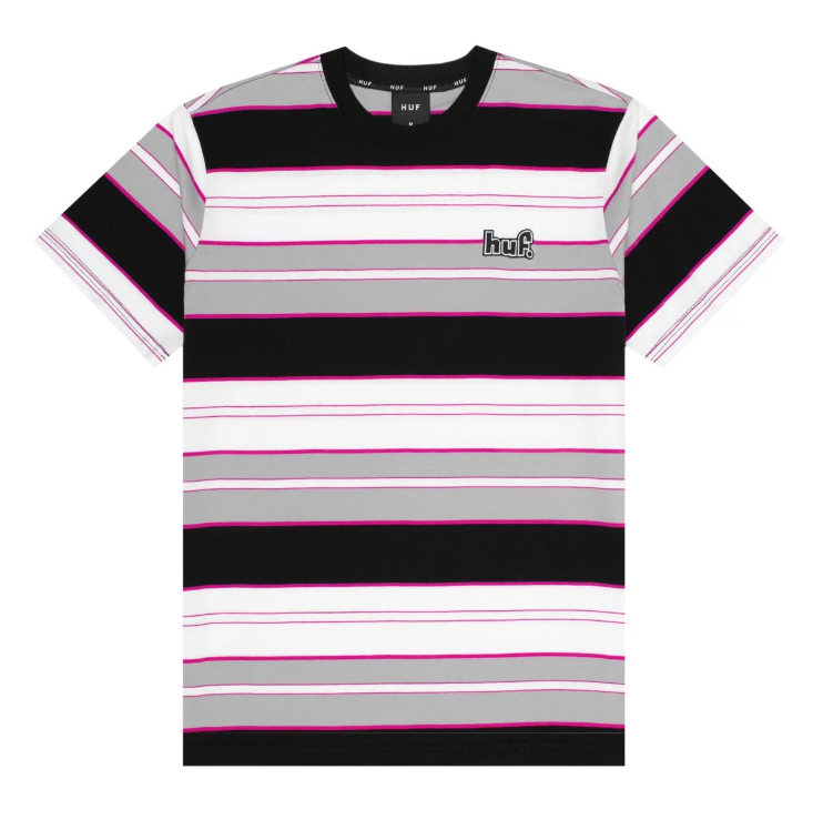 HUF Upland Knit Top Black