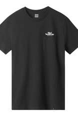 HUF Issue Logo Pocket Tee Black
