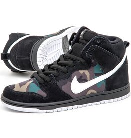 Nike USA, Inc. Nike SB Dunk High Pro Black/White Iguana