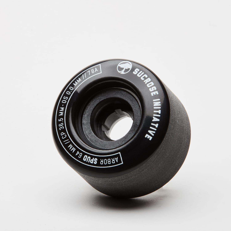 Arbor Spud Sucrose Initiative 78a Black 64mm