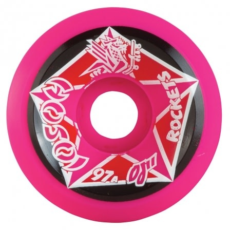 OJ Wheels Hosoi Rocket Re-Issue Pink 61mm 97a