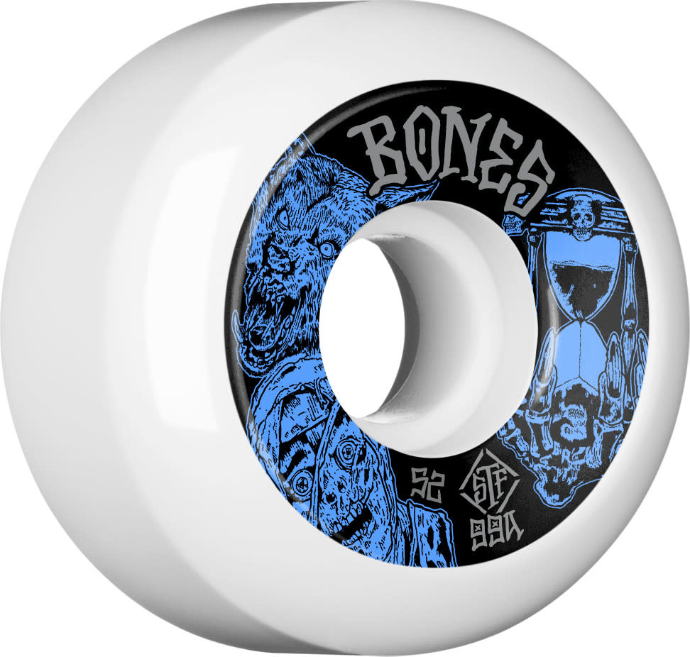 Bones Time Beasts Easy Streets 52mm Sidecuts