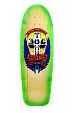"Dogtown OG Bulldog Rider 10"" Natural/Neon Green Fade"