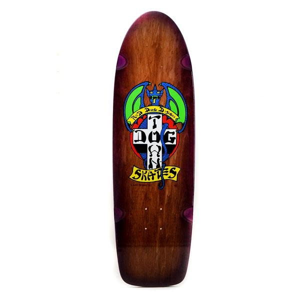 "Dogtown OG Red Dog Rider 9"" Brown Stain/Transparent Purple Fade"