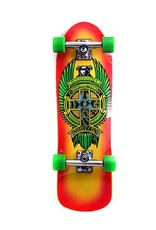 "Dogtown Eric Dressen Pup Mini 8.625"" Complete Yellow/Red Fade"
