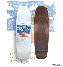 Napalm Fier Guy Shaped Deck 8.75