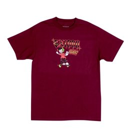 GX1000 Listen To My Creep Burgandy Tee
