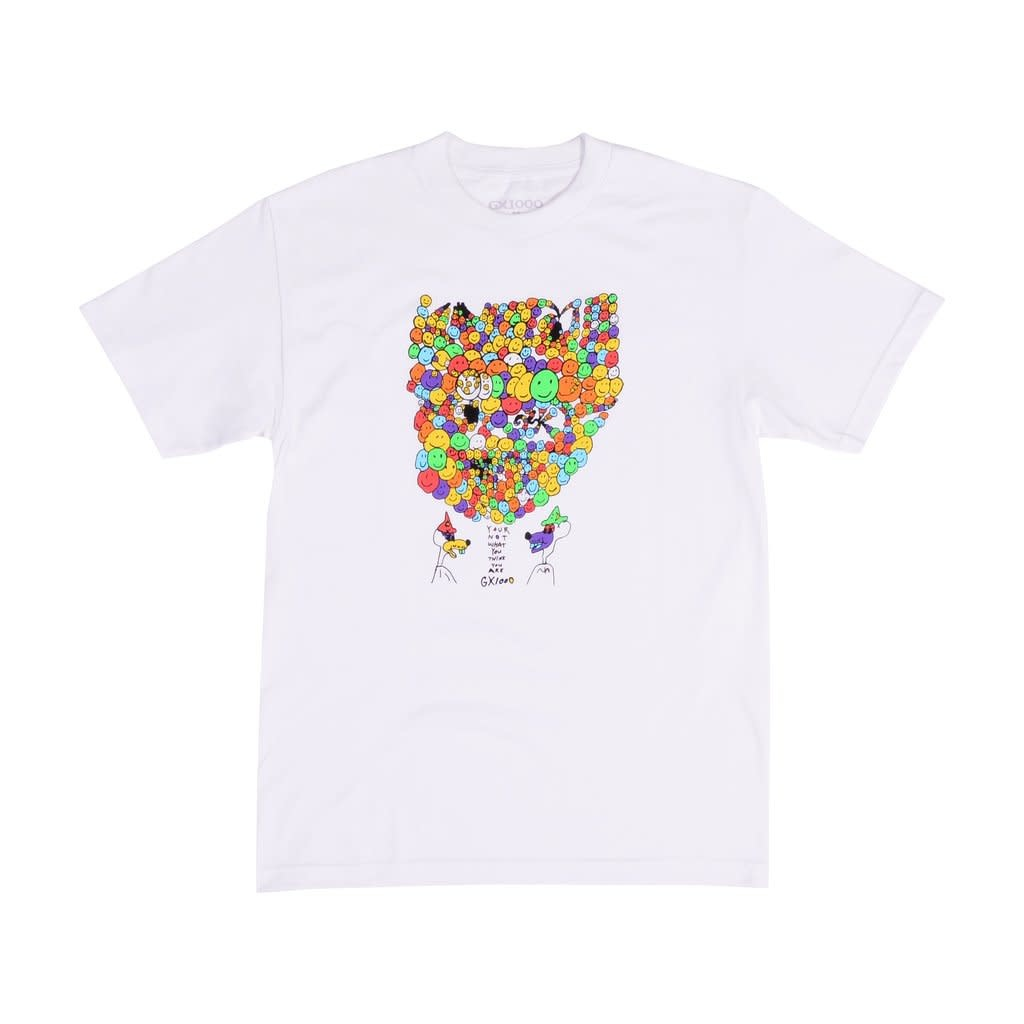 GX1000 Your Not White Tee