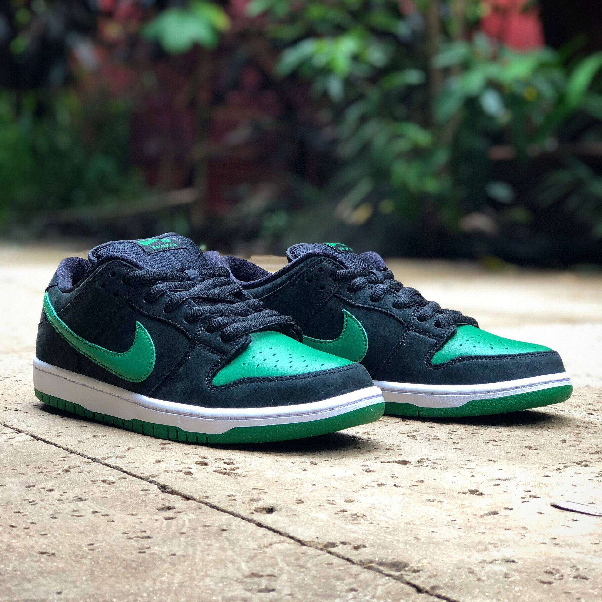 low priced d3da1 16411 Nike SB Dunk Low Pro Black/Pine