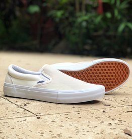 Vans Shoes Slip On Pro Rubber Print White/White