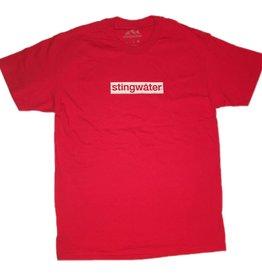 Stingwater Logo Tee Red