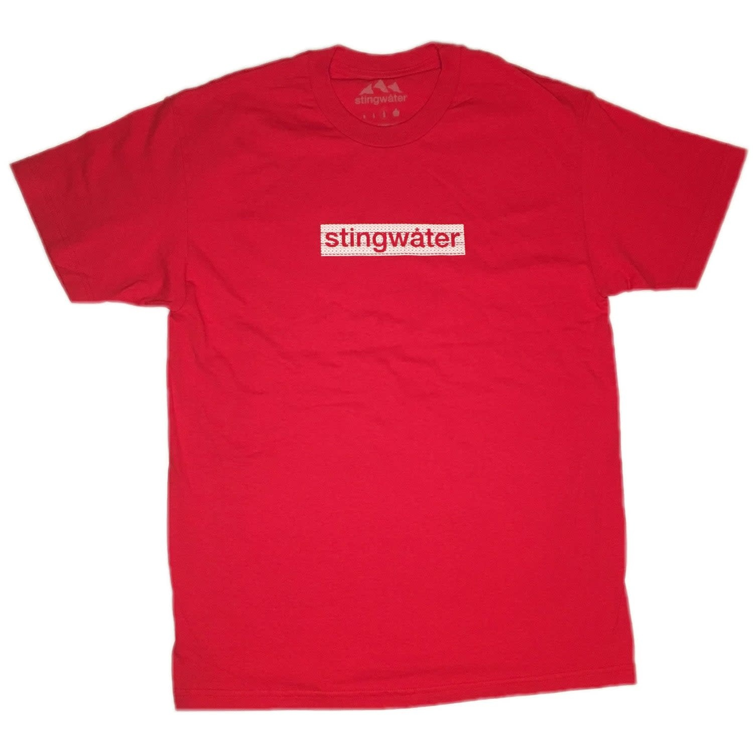 Stingwater Logo Tee Red