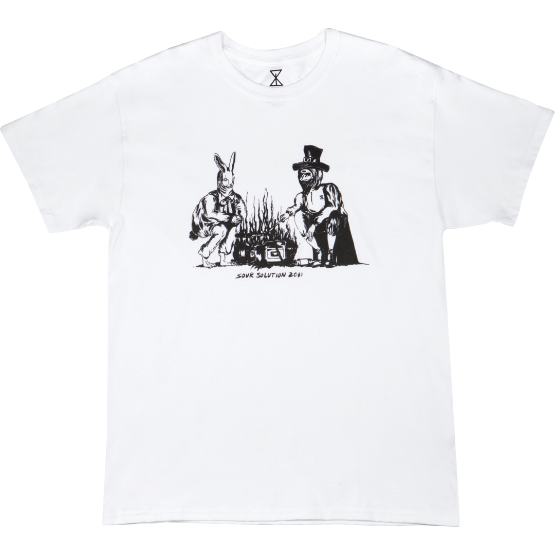 SOUR SOLUTION Sour Camp Tee White