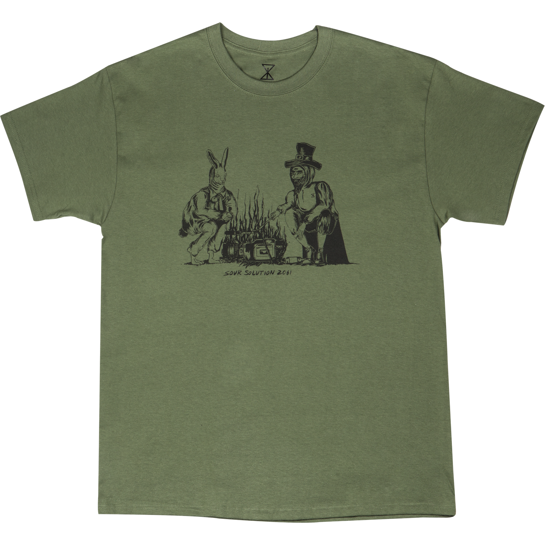 SOUR SOLUTION Sour Camp Tee Military Green