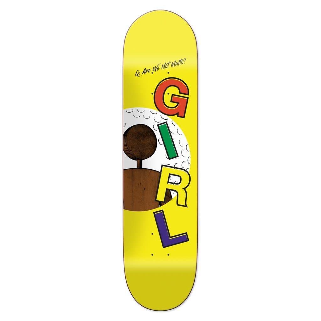 "Girl Skateboard Company Malto One Off 8.0"""