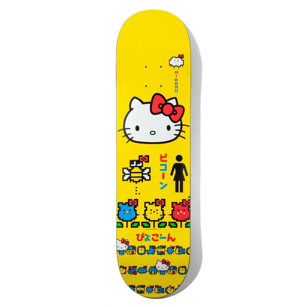 Girl Skateboard Company Mikemo Hello Kitty Sanrio 7.75""