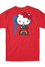Girl Skateboard Company Rainbow Sanrio Tee Red