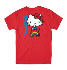 Girl Skateboard Company Rainbow Sanrio Tee Red