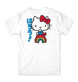 Girl Skateboard Company Rainbow Sanrio Tee White