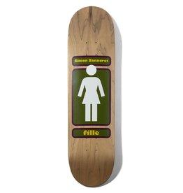 "Girl Skateboard Company Bannerot 93 Till 8.0"""
