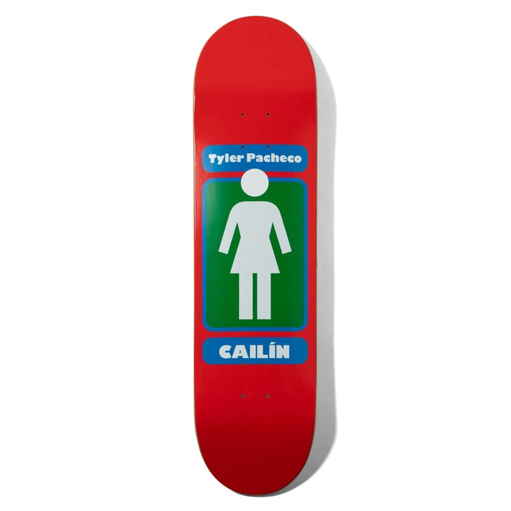 "Girl Skateboard Company Pacheco 93 Till 8.0"""