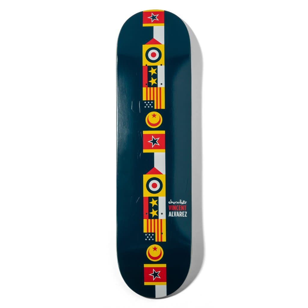 "Chocolate Skateboards Alvarez Battle Lines 8.0"""