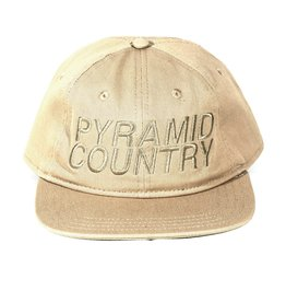 Pyramid Country Mono Hat Sand