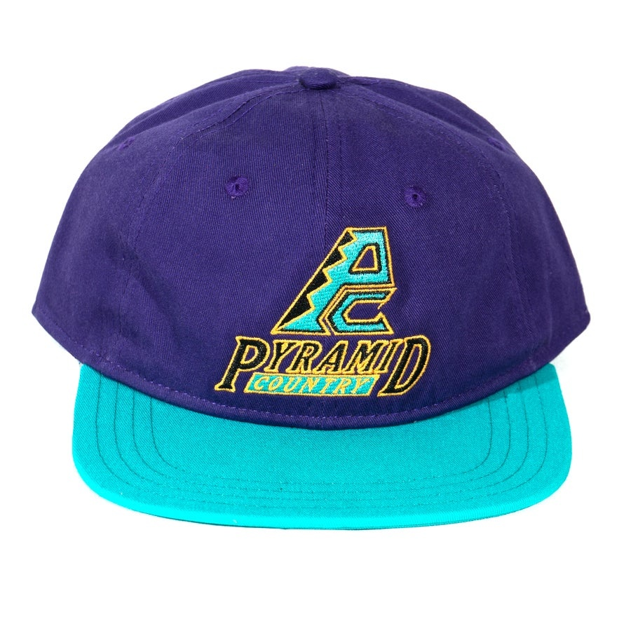 Pyramid Country Dbags Hat Purple