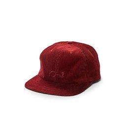 Polar Skate Co. Corduroy Cap Red