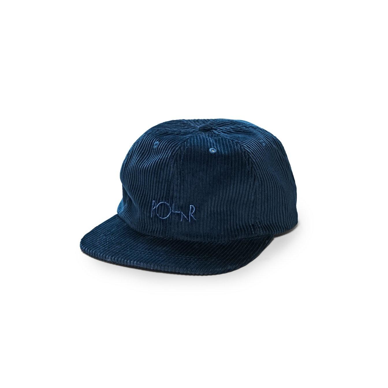 Polar Skate Co. Corduroy Cap Police Blue