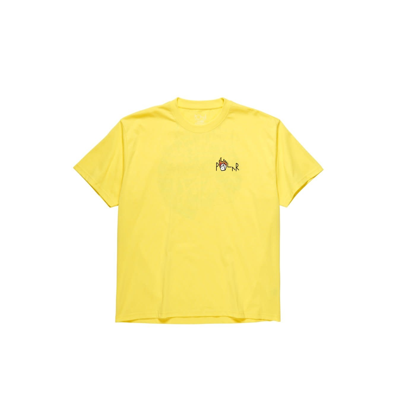 Polar Skate Co. Castle Fill Logo Yellow