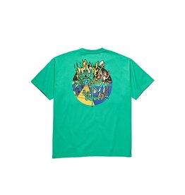 Polar Skate Co. Castle Fill Logo Green