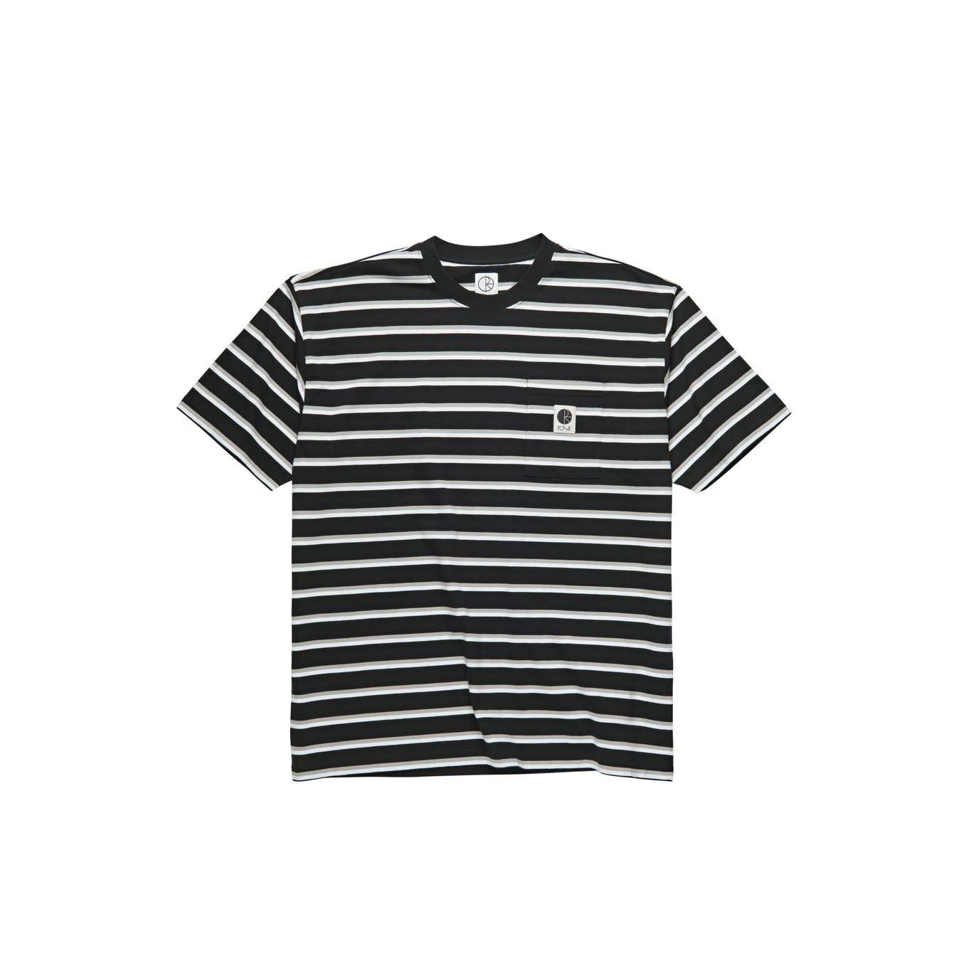 Polar Skate Co. Stripe Pocket Black