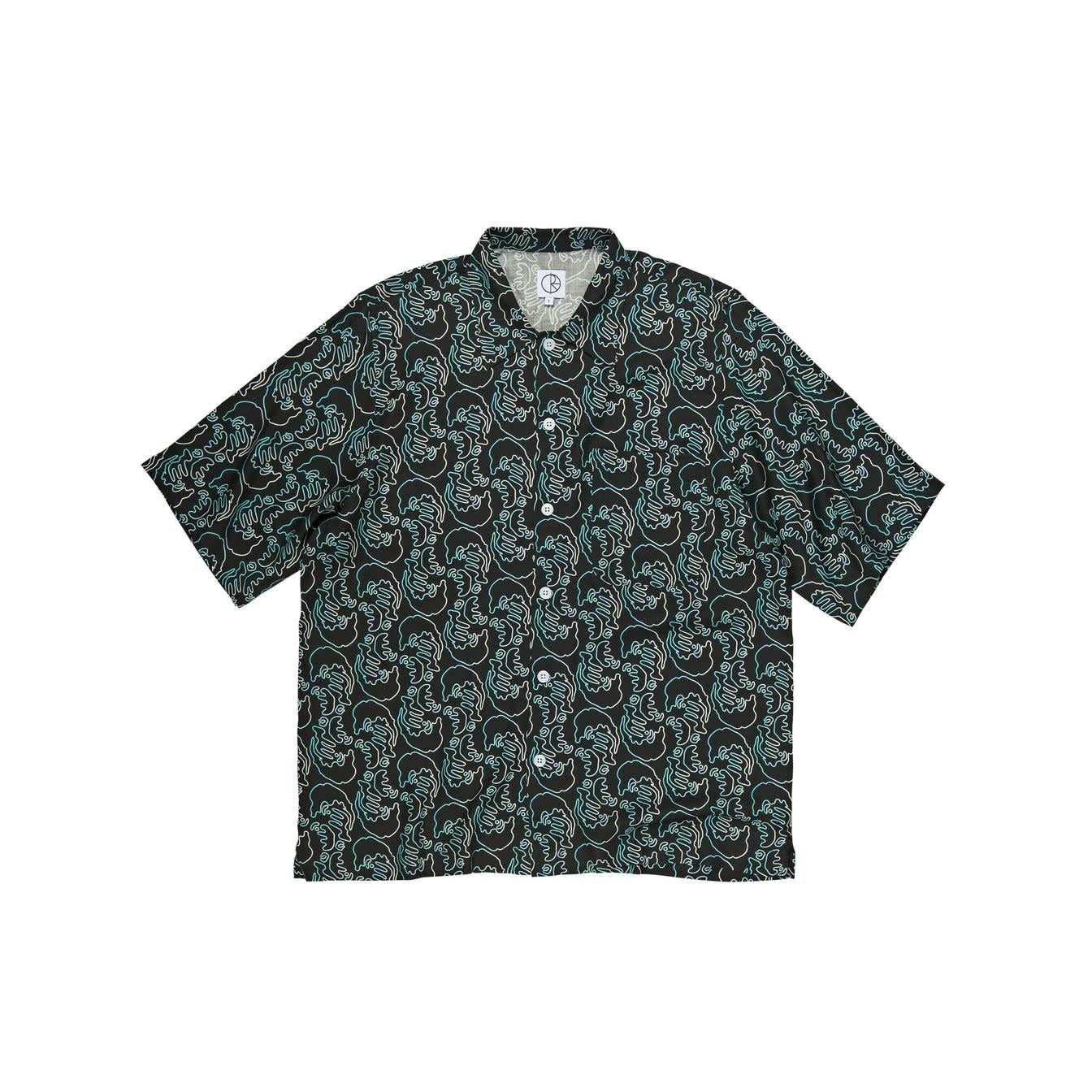 Polar Skate Co. Art Shirt (Faces) Black
