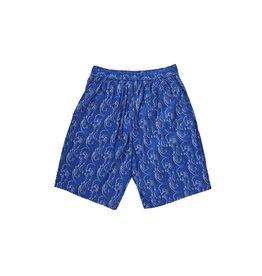 Polar Skate Co. Art Swim Shorts (Faces) Blue