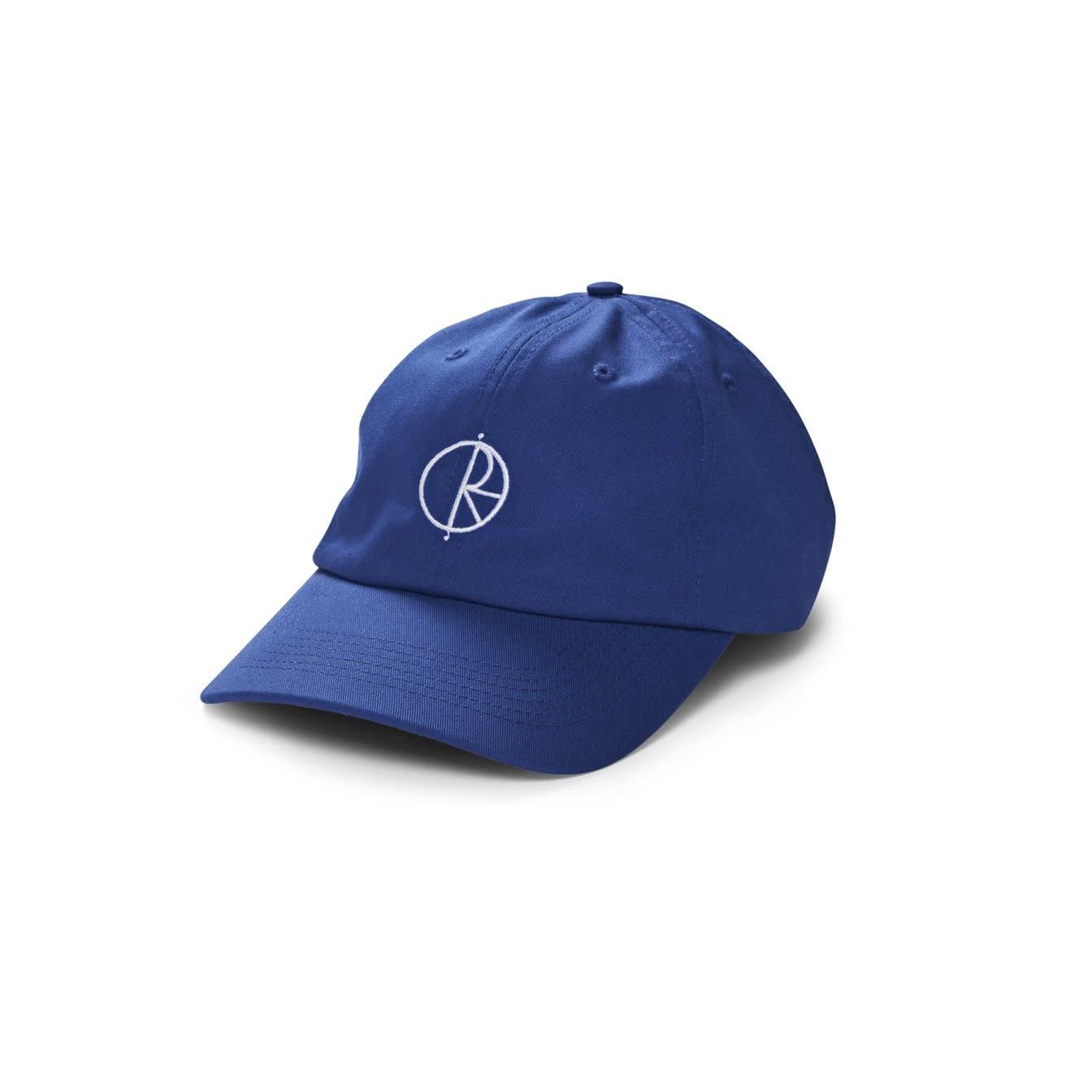 Polar Skate Co. Stroke Logo Cap Blue 57.5c