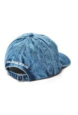 Polar Skate Co. Denim Cap Blue Acid 56c