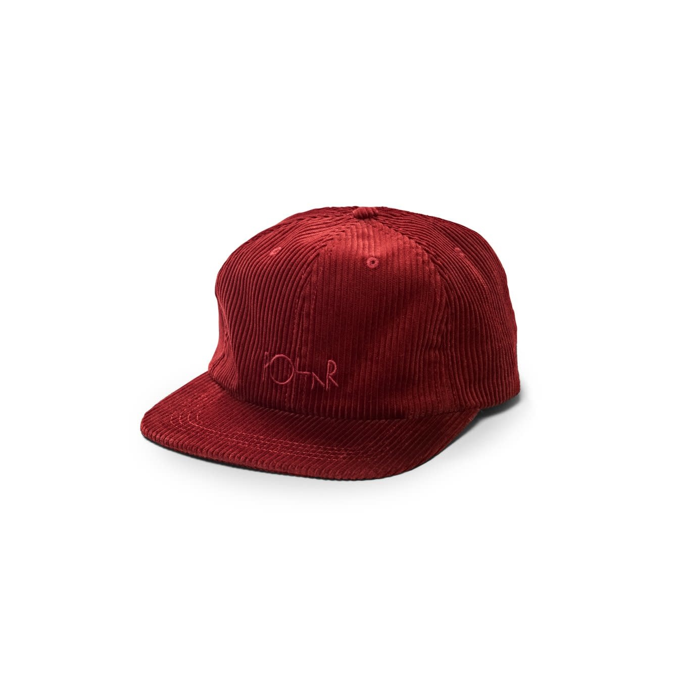 Polar Skate Co. Corduroy Cap Red