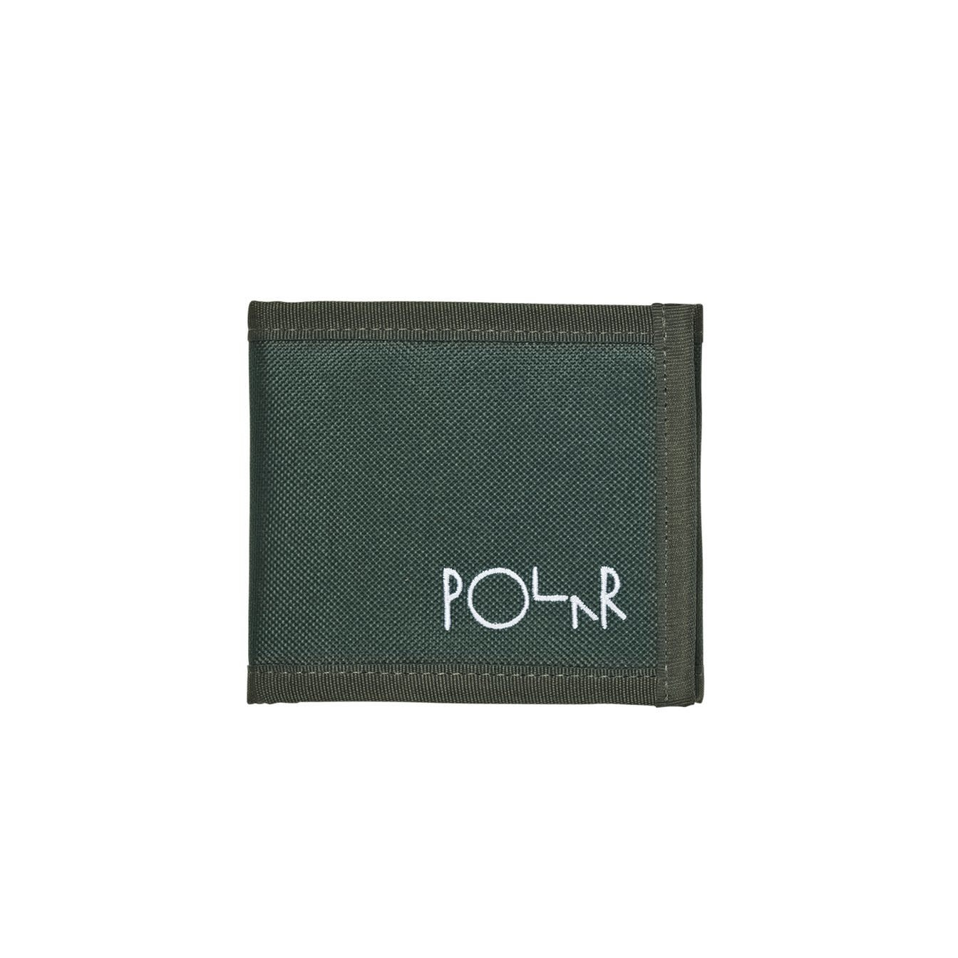 Polar Skate Co. Cordura Wallet Dark Green
