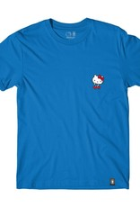 Girl Skateboard Company Hello Kitty Push Tee Royal