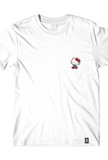 Girl Skateboard Company Hello Kitty Push Tee White