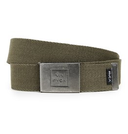 RVCA Falcon Web Belt Olive Heather