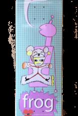 "Frog Skateboards Strapped In Teal 8.5"""