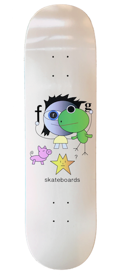 "Frog Skateboards Frog Kid! Peach 8.25"""