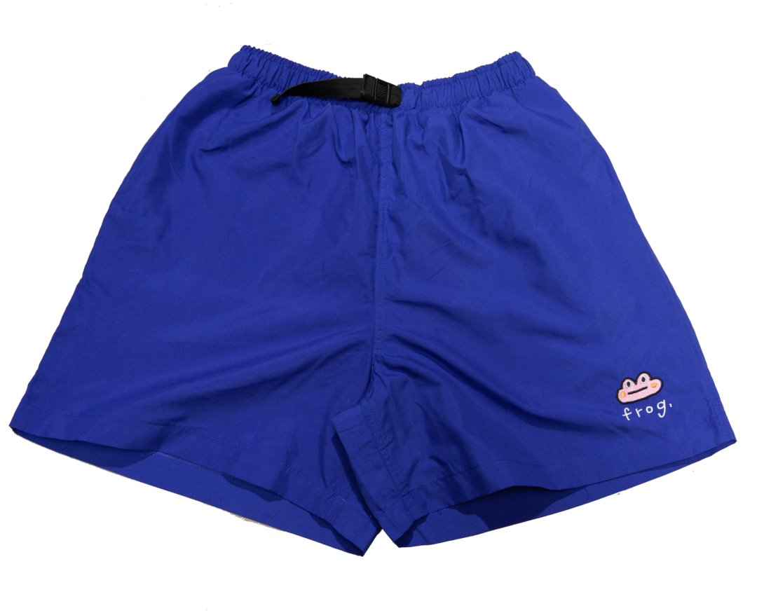 Frog Skateboards Frog Swim Trunks Blue