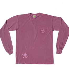 Frog Skateboards Pop Star Pocket L/S Purple