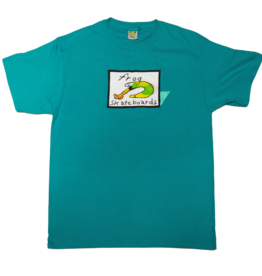 Frog Skateboards Classic Frog Logo Tee Jade
