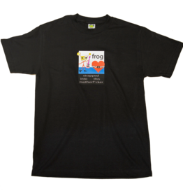 Frog Skateboards Strapped In Tee Black