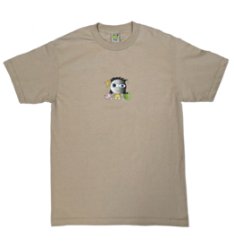 Frog Skateboards Frog Kid! Tee Oatmeal